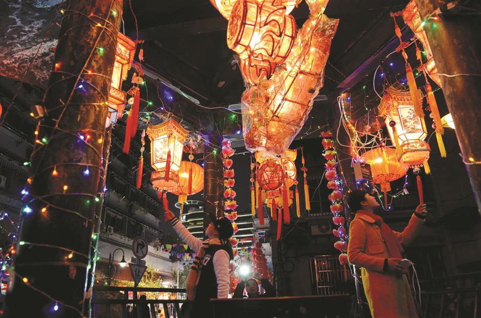 Lanterns light the way to festive celebrations