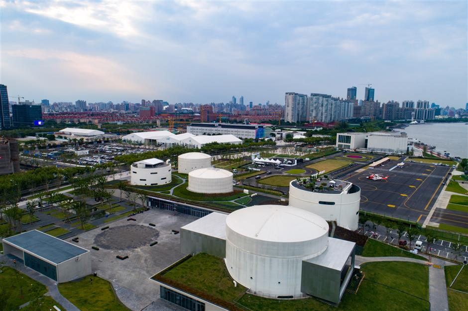 Former oil tanks to become art park next month