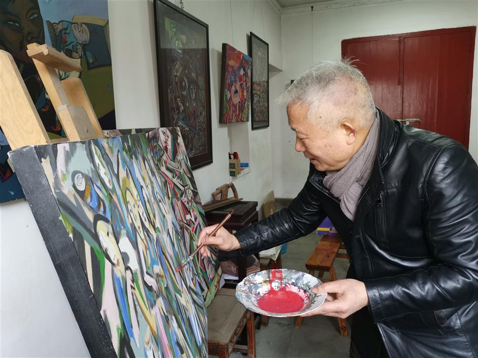 Jiaxing farmers turn to art and do it in style