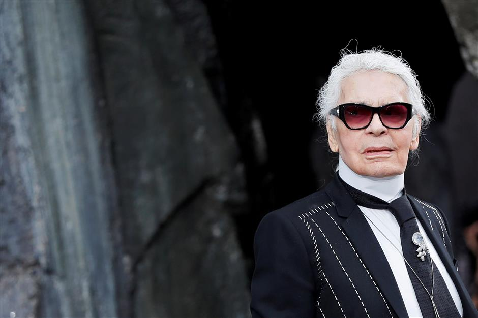 Haute-couture designer Karl Lagerfeld has died