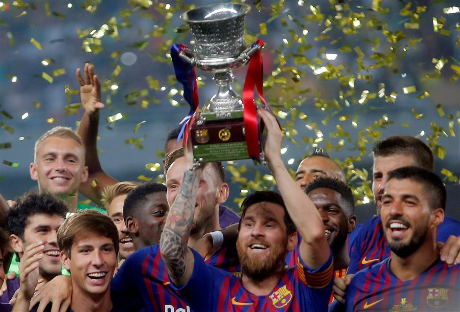 Spanish Super Cup set to move abroad in new final four format