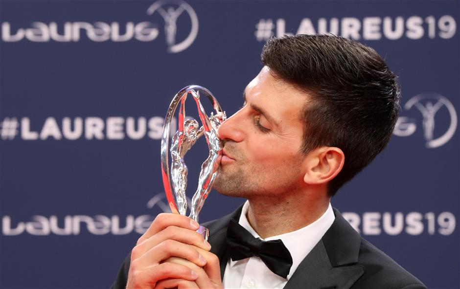Djokovic wins his fourth Laureus World Sportsman of the Year, Biles crowned Sportswoman