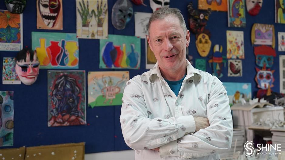 All's fair in love and war for Brit art teacher