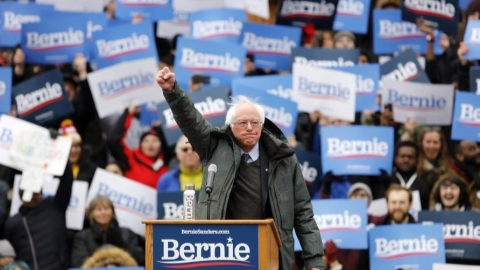 US senator Sanders launches 2020 presidential campaign ...