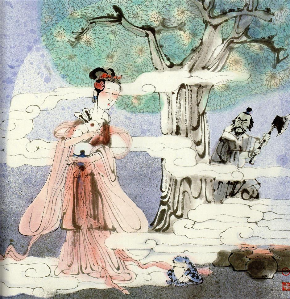 Chang'e makes moonlight flight