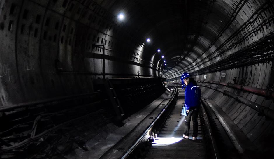 Underground, under cover of the night