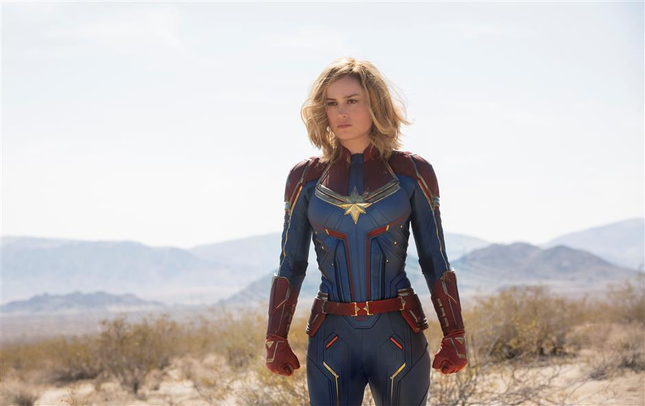 Captain Marvel flight lands in city's cinemas