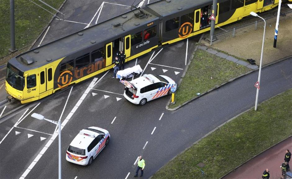 Dutch police say hunting Turkish-born man over Utrecht shooting