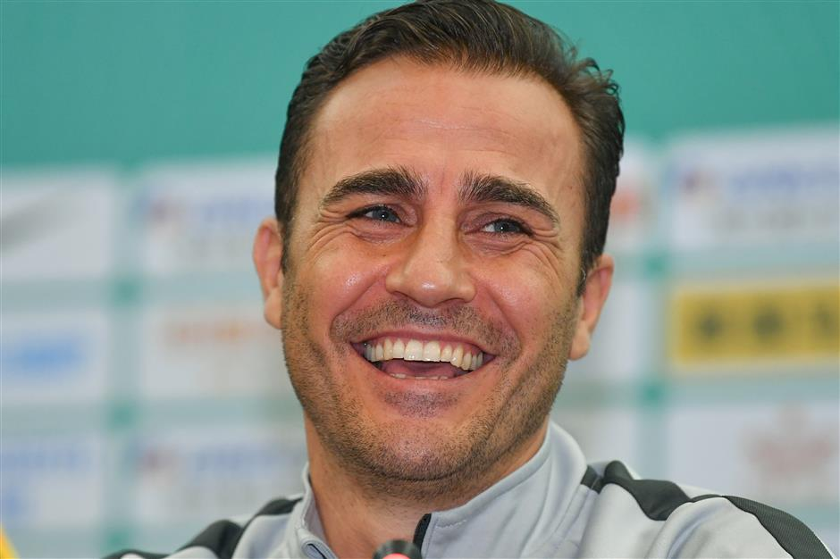 Cannavaro unsure about his future as China head coach
