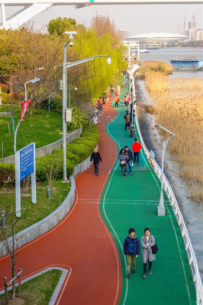 Best path to the future is along a greenway