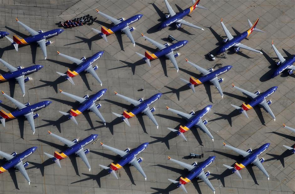 Southwest Airlines 737 Max makes emergency landing after engine trouble