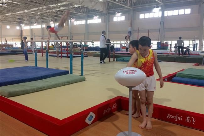 New sports center onChongming for Shanghai athletes