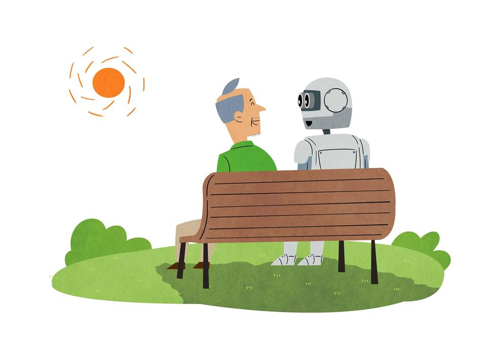Robots help to alleviate people's loneliness