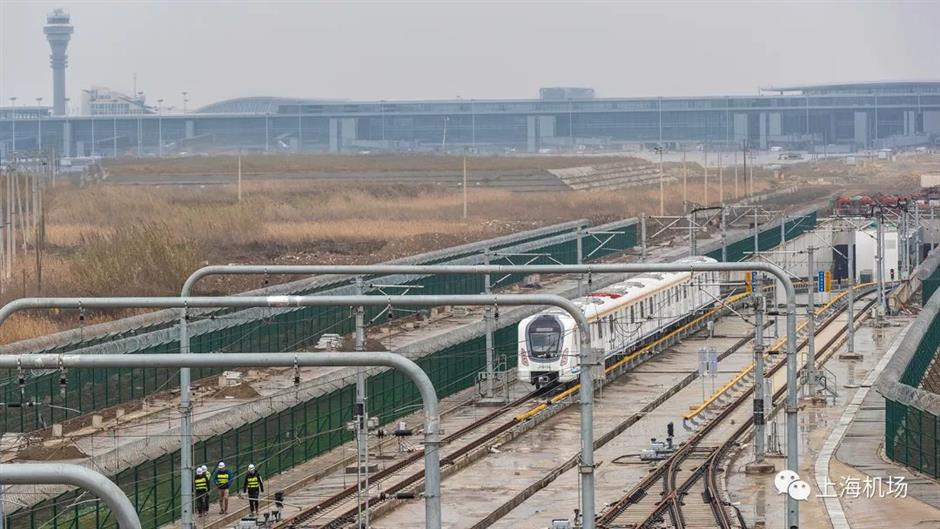 New Pudong terminal to open in September with subway lines