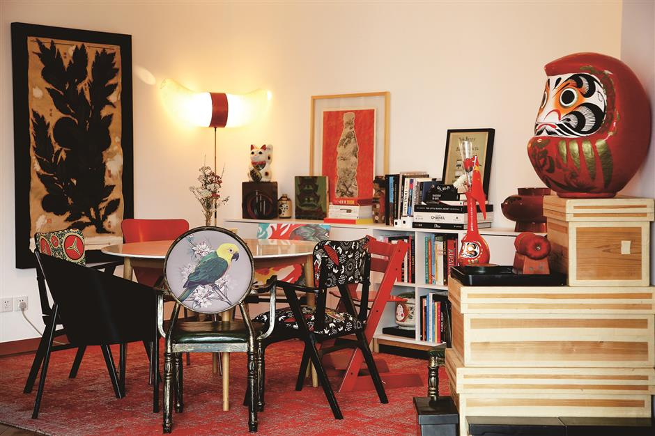 Flat full of love for French collector