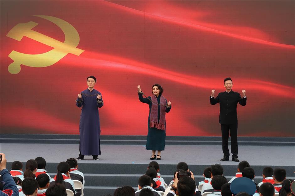 Events honor China's revolutionary heroes, historic struggle