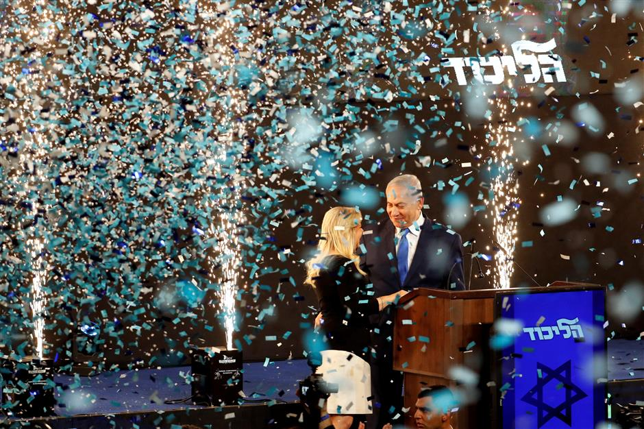 Israel's Likud, Blue and White tie with 97.4% of vote counted