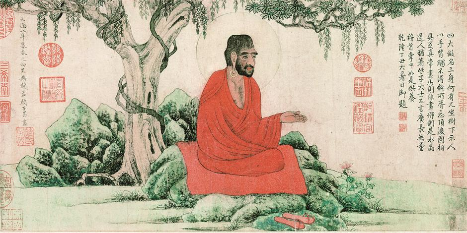Monk in a Red Robe