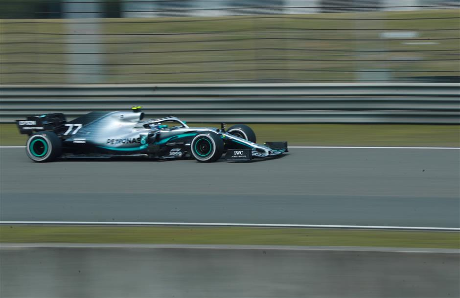 2019 Chinese Grand Prix: Bottas fastest in second practice