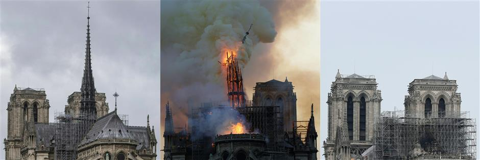Notre-Dame fire extinguished: report
