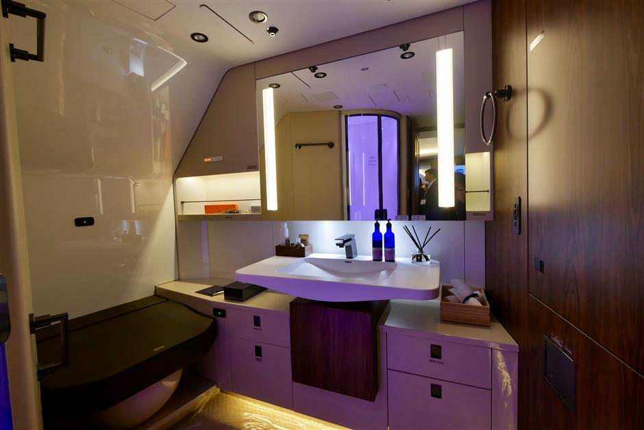 China-developed business jet debuts in Shanghai