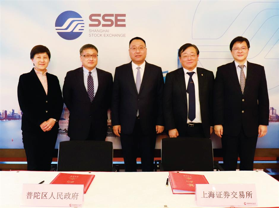 Putuo partners stock exchange to drive key local enterprises