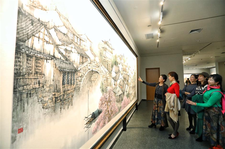 The art of Pudong's history on show