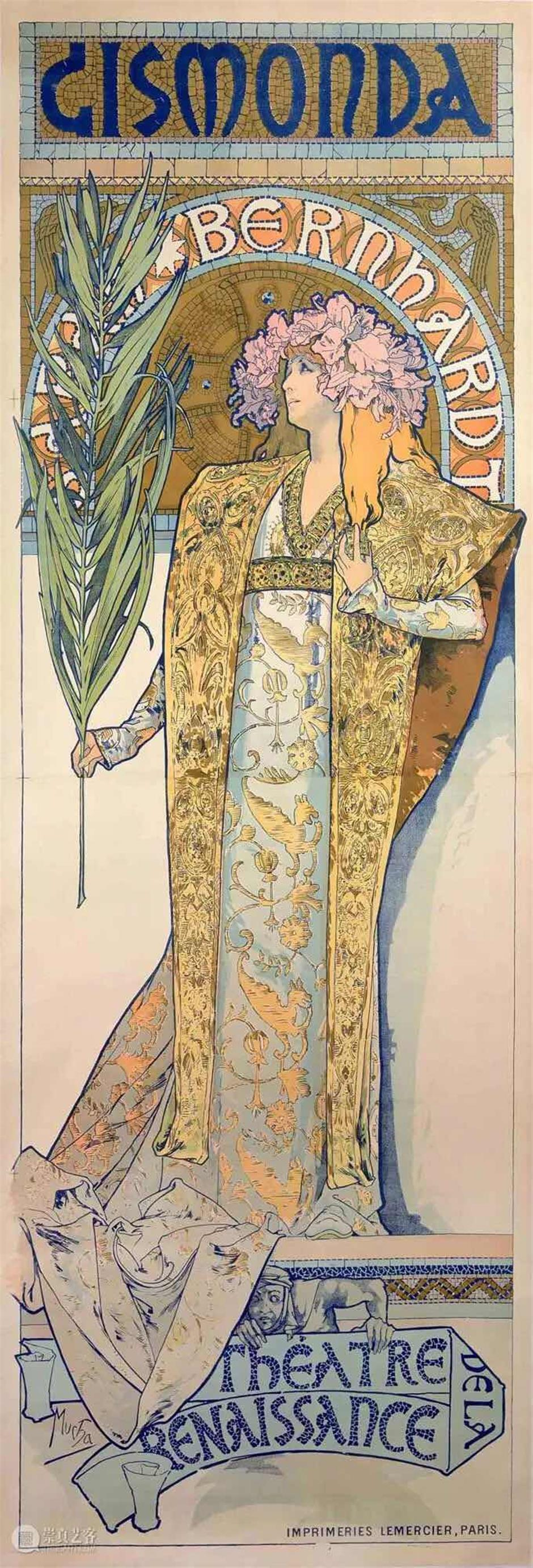 Multifaceted Mucha, prince of poster art