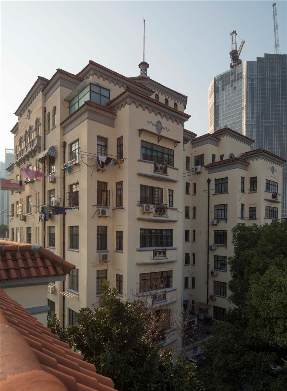 Spanish-style Art Deco building still projects grandeur of old Shanghai