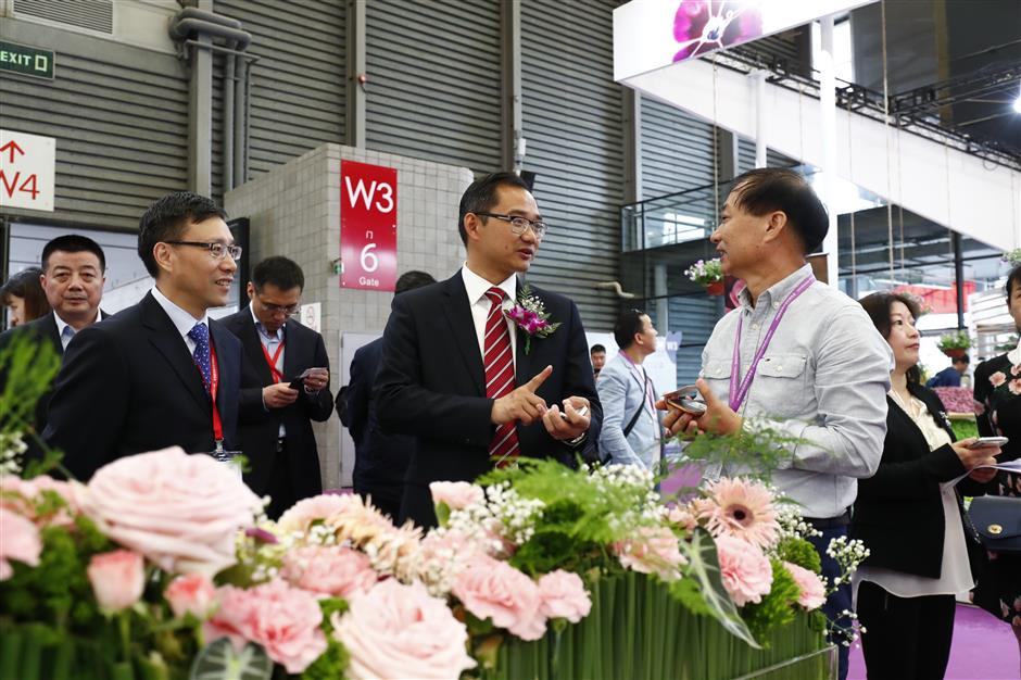 10th China Flower Expo starts exhibition cooperation