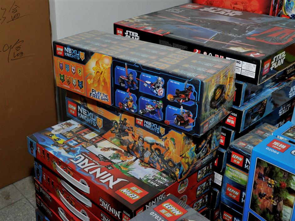 Lepin for LEGO? No go!