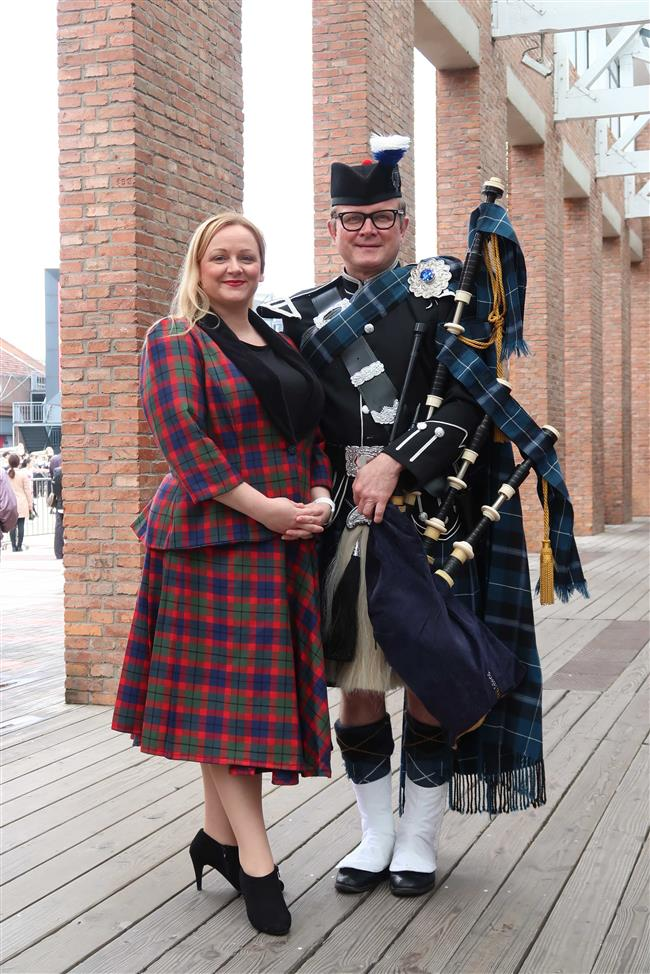 Scottish tunes fill the Yangpu air