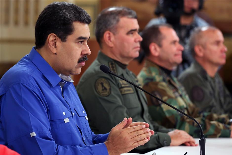 Venezuela's military defeats coup attempt by 'manipulated' soldiers
