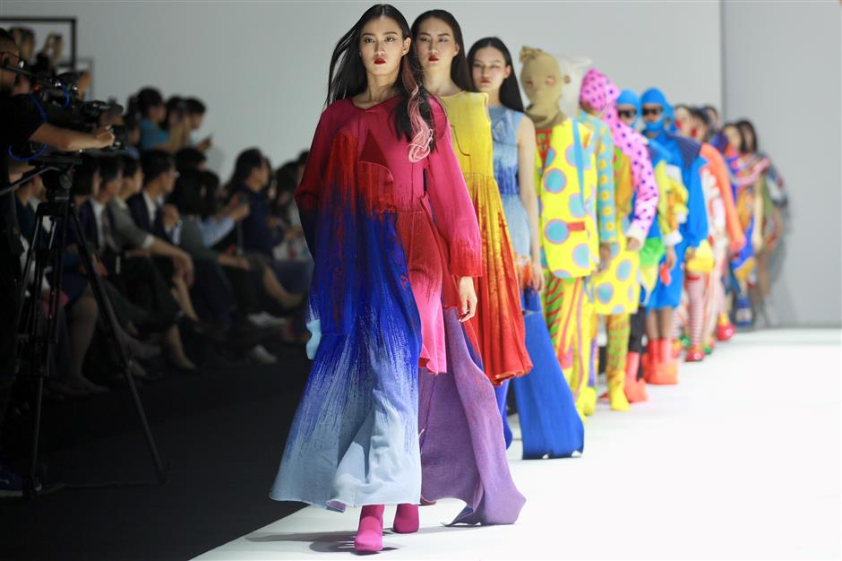 Fashion students rock the runway