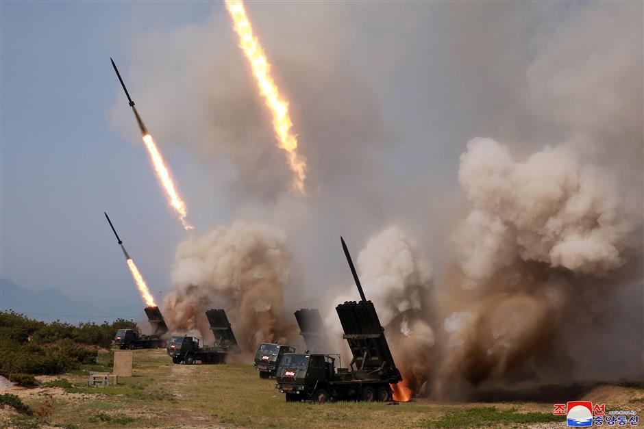 S. Korea sees DPRK's short-range projectile launches as live-fire exercise