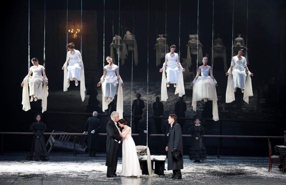 Pushkin's Russian soul hits Shanghai stage