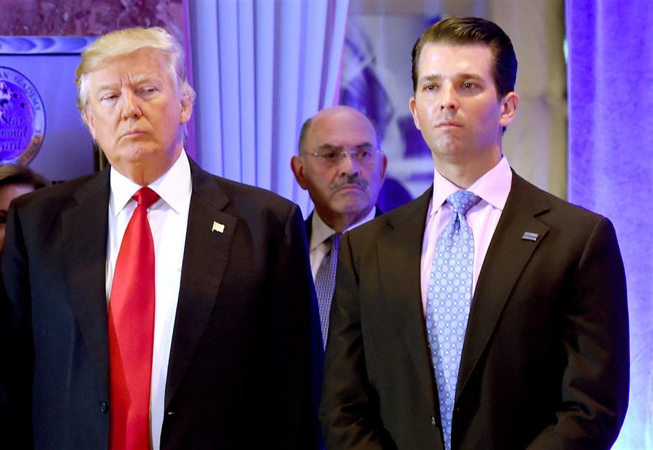 Trump Jr subpoenaed as Congress battles W.House over Russia report