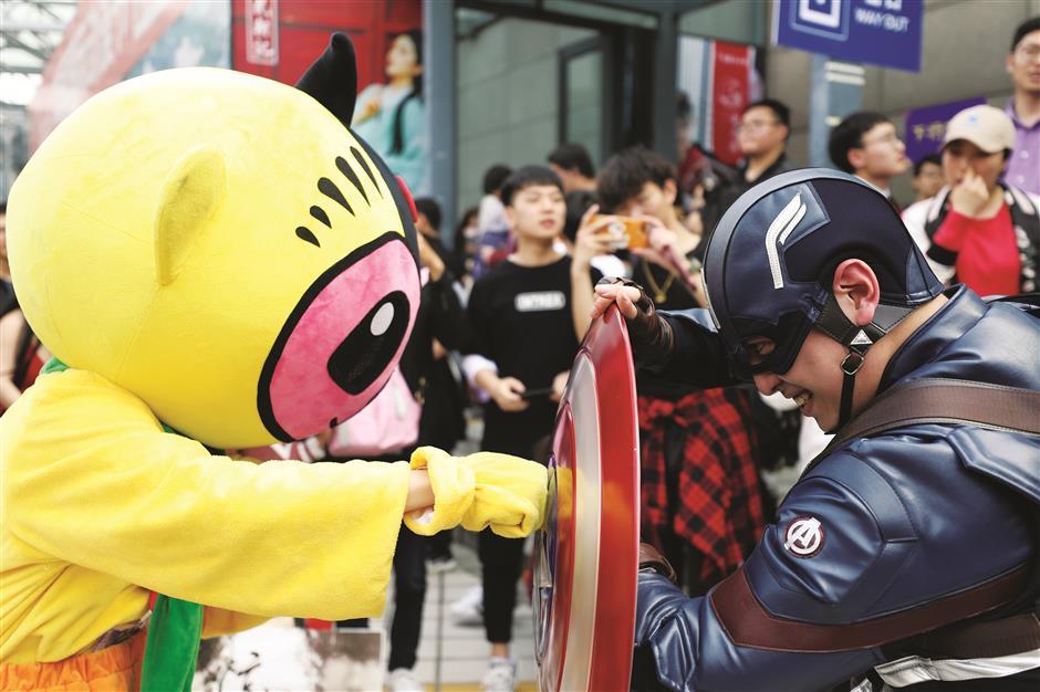 Festival turns cartoons into big money