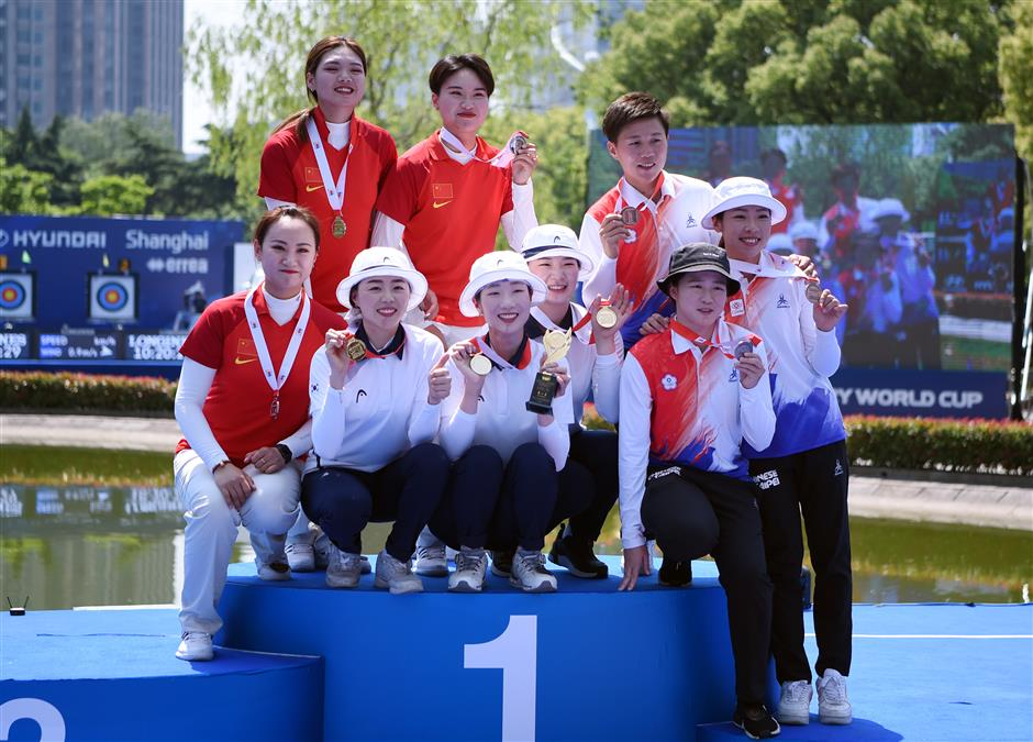 China archers strike silver at World Cup