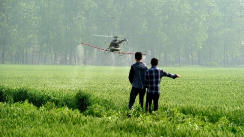 China pilots unmanned farming in major grain bases