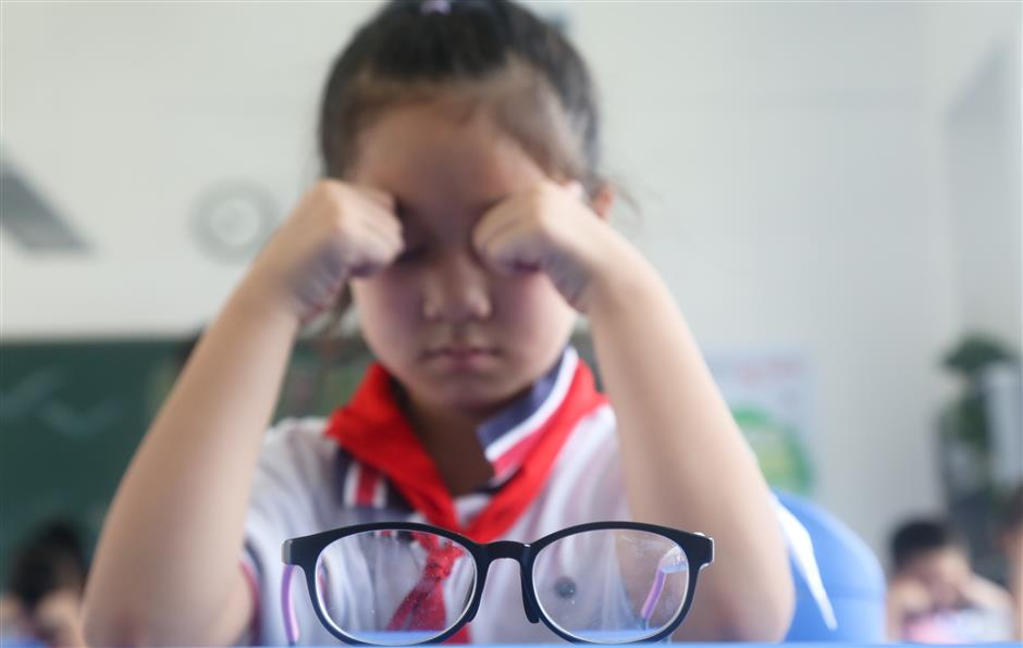 Fighting myopia and obesity among students