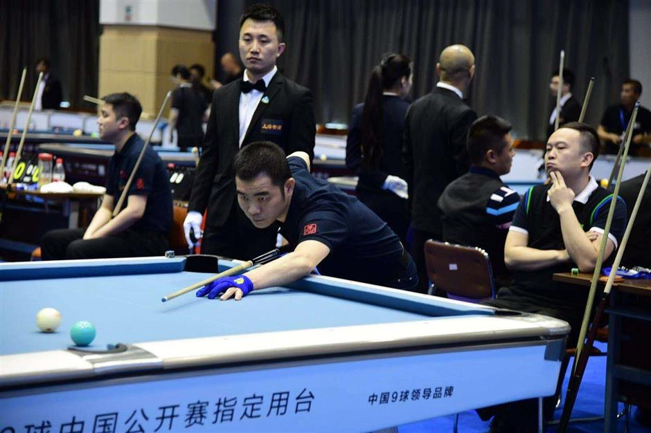 'Huangpu Cup' billiards tourney begins