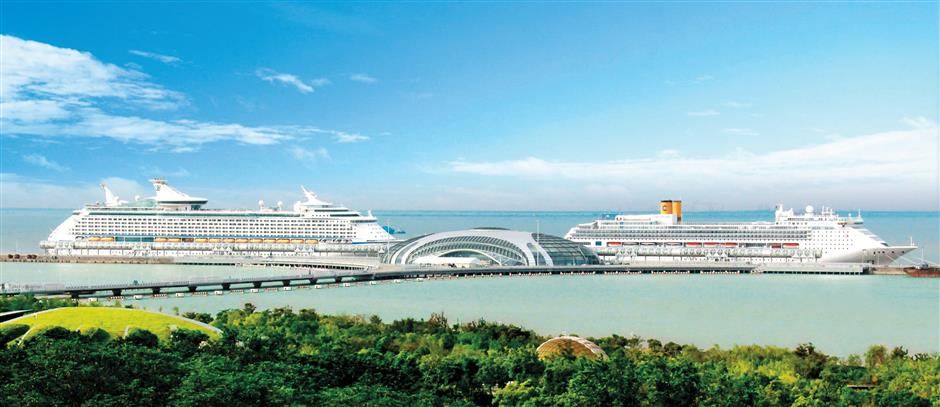 New cruise liners to call Shanghai home