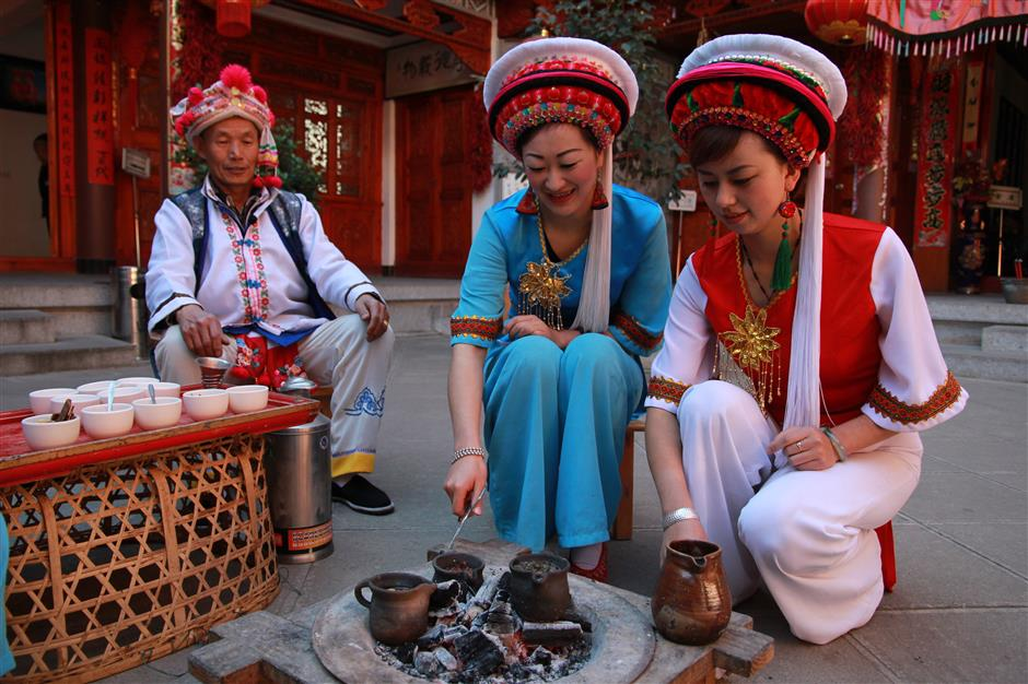 Celebrating the ancient culture of the Bai