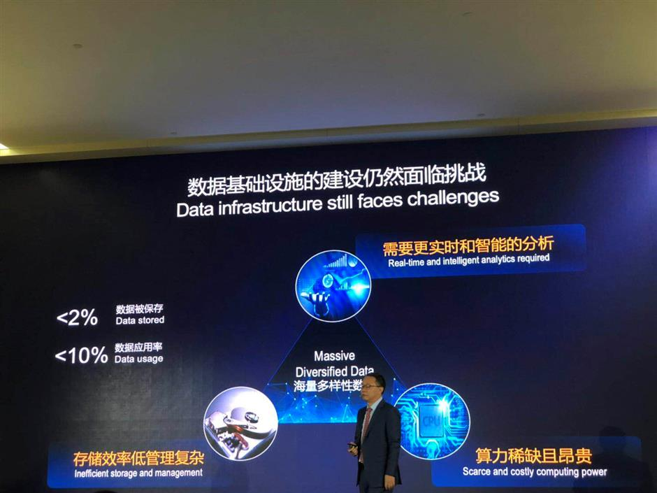 Huawei releases AI database and storage products