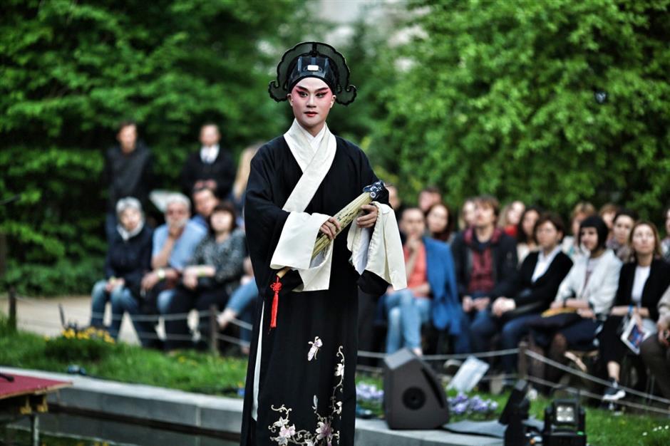 Kunqu Opera Peony Pavilion opens Chekhov International Theater Festival