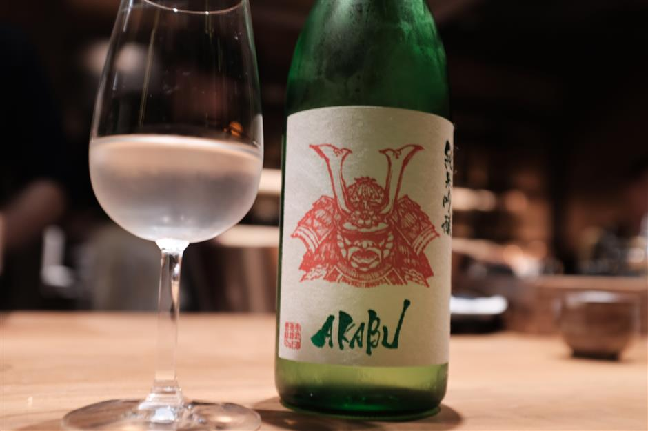 Sake the perfect match for exquisite food