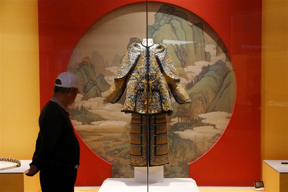 Palace Museum exhibition opens at new Fengxian Museum