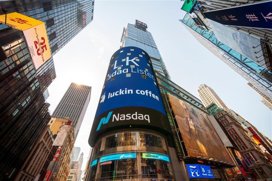China's Luckin Coffee IPO lists on Nasdaq