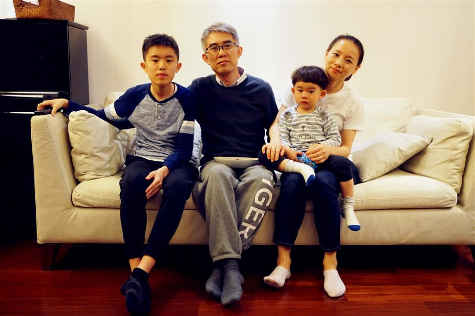 Wu has a full-time career ... as stay-at-home mom